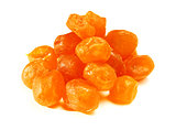 Sweet kumquat on white background