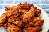 Chicken Wings with Mesquite Barbecue Sauce