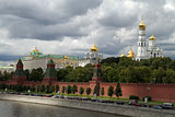 Russia, Moscow, view on Kremlin