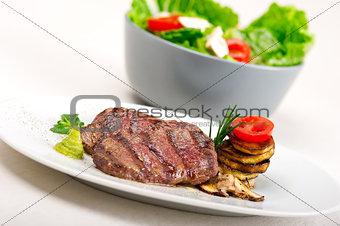 grilled Kobe Miyazaky beef
