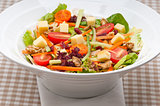 Fresh colorful healthy salad