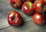 Fresh Red Apples