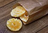 dry pineapple in package
