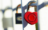 Lock with heart
