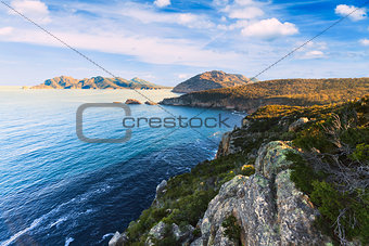 Cape Tourville in Tasmania, Australia