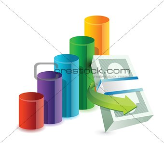 colorful business concept illustration