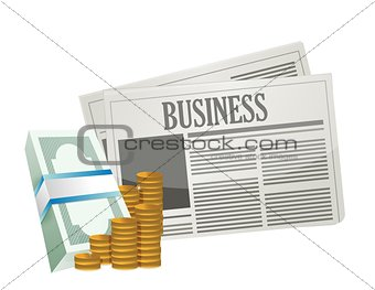 business money opportunities on the paper.