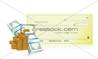 checkbook and business profits