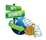 international business concept