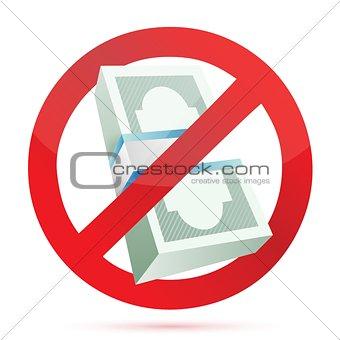 cash rejected concept