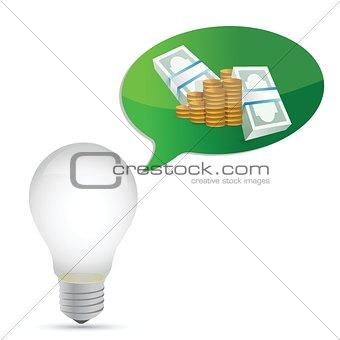 monetary idea illustration design graphic