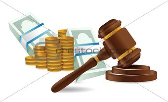 law representation costs concept