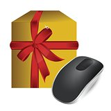 gift box and Wireless computer mouse