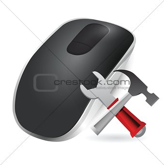 tools and Wireless computer mouse