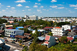 View over the city of Ubonratchathani 