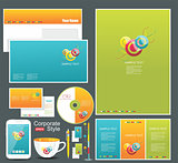 Corporate identity templates.