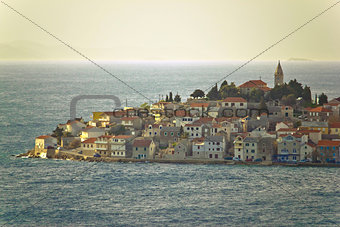 Adriatic Town of Primosten on sea