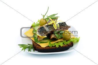 Smoked Sardines Snack