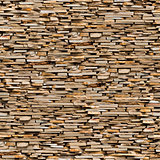 Seamless Texture of Brown Slate Stone Surface.