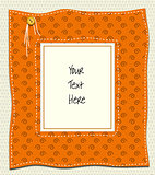 Fabric message board