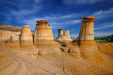 Hoodoos Drumheller