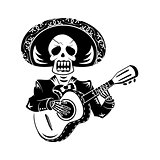Mariachi guitar player