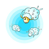 Cloud sheeps