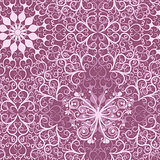 Vintage pink seamless pattern