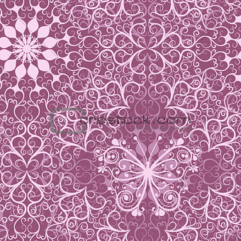 Vintage pink seamless pattern