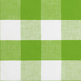 Real green seamless pattern of gingham traditional tablecloth su