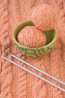 Yarn, needles, Turkish national dish