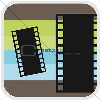 Movie icon illustration