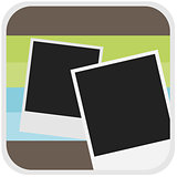 Photo icon illustration