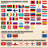 Flags of Europena States