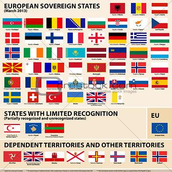 Flags of Europena States