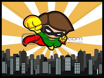 City Defender Flying