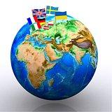 Europe - 3D