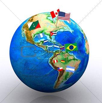 America - 3D