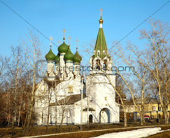 Church in honor Assumption of the Mother God Niznhy Novgorod Rus