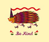 Kind hedgehog