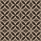 vintage white black oriental kaleidoscope background with circle