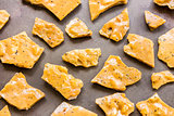 Kona Coffee Macadamia Nut Brittle