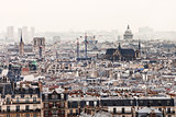 view of Paris with Pantheon