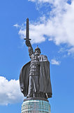 Monument of legendary russian hero Ilya Muromets