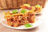 Italian lasagne