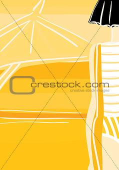 yellow beach.