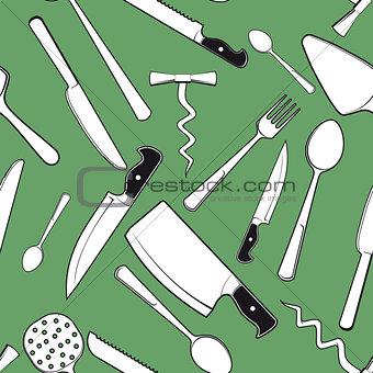 kitchen utensils and tableware