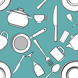 kitchen utensils and tableware