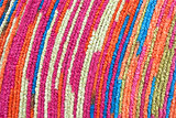 Colorful cotton fabric.