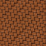 Seamless Texture of Brown Wooden Rattan.